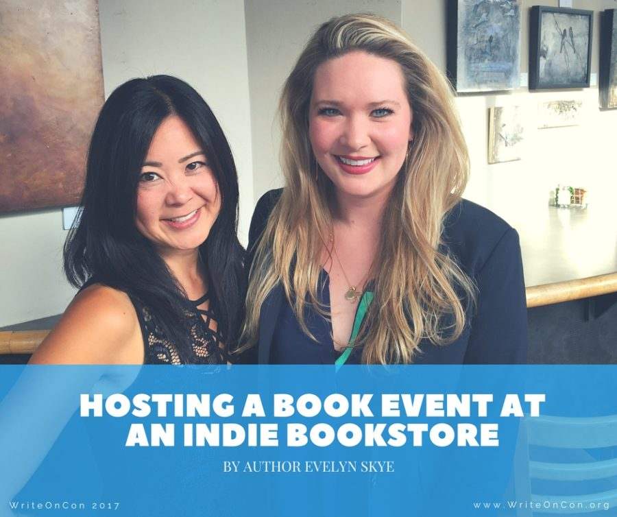 Hosting a Book Event at an Indie Bookstore