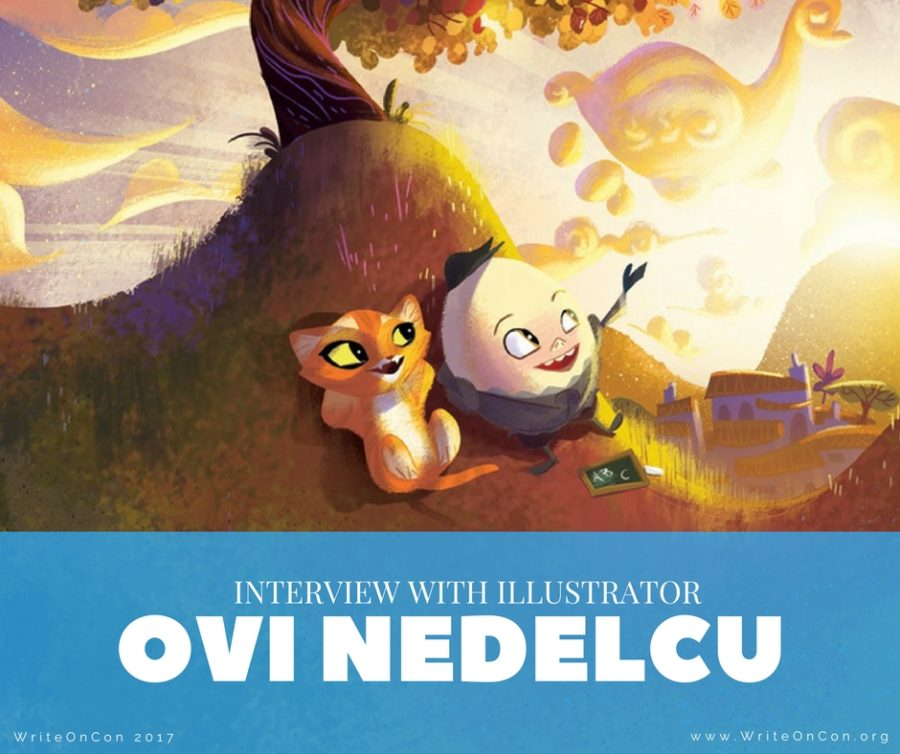 Interview with Illustrator Ovi Nedelcu