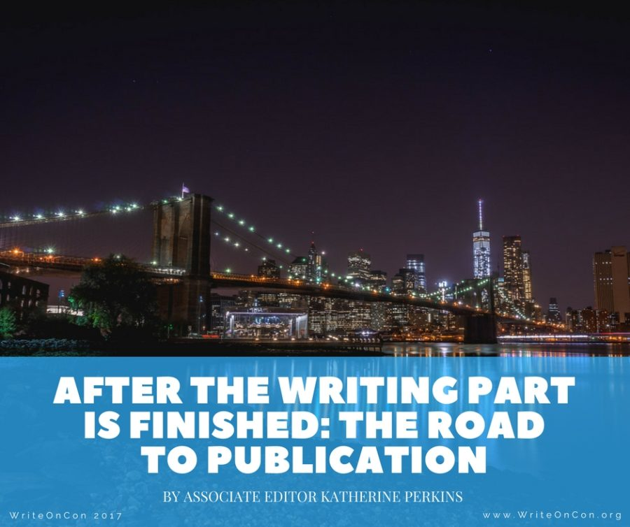 After the Writing Part is Finished- The Road to Publication