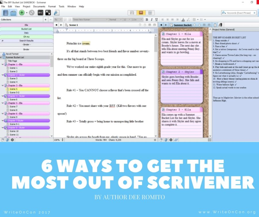 6 Ways to Get the Most Out of Scrivener