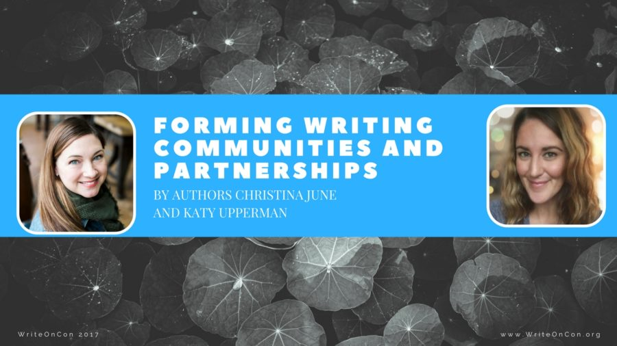 Forming Writing Communities and Partnerships