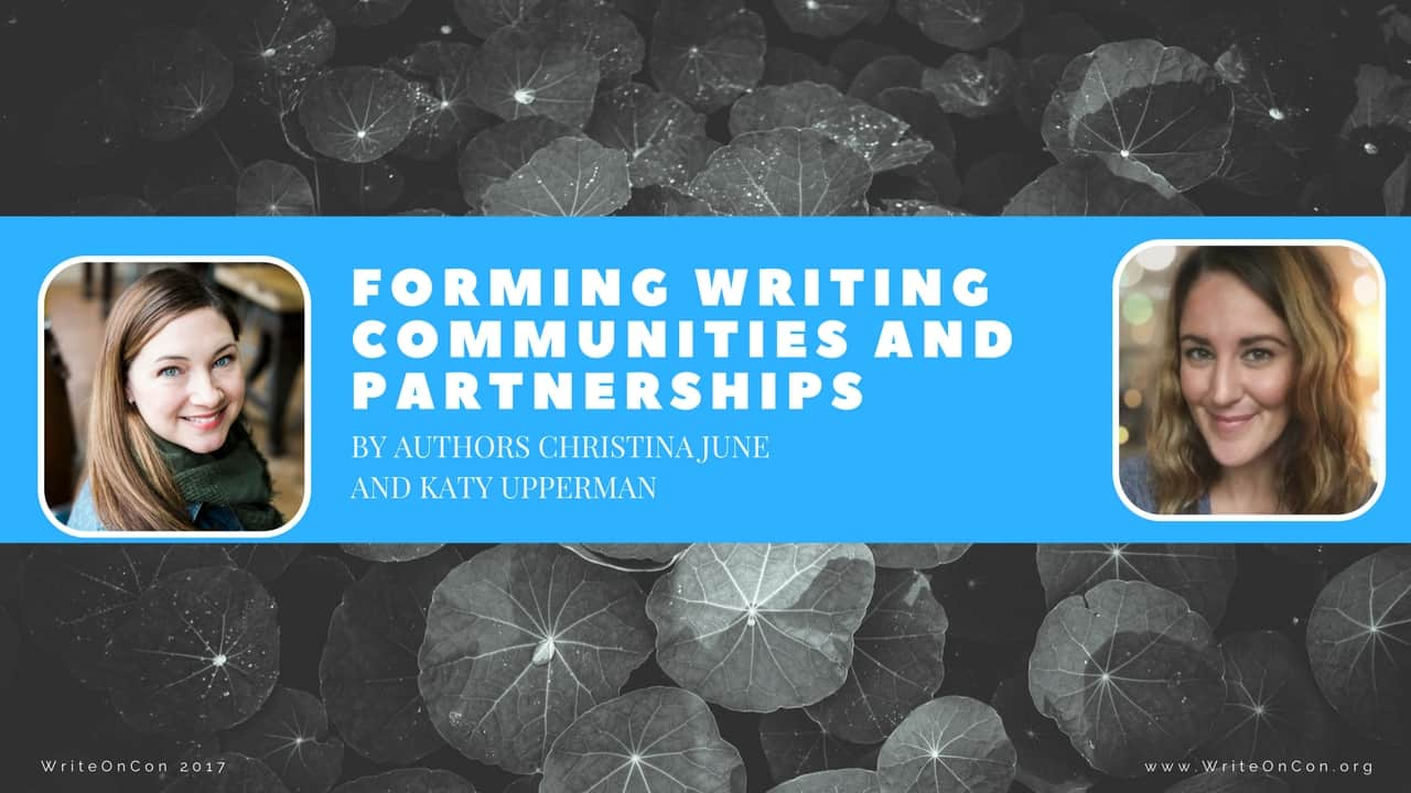 Forming Writing Communities