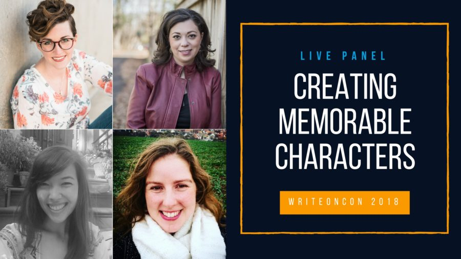 LIVE PANEL: Creating Memorable Characters