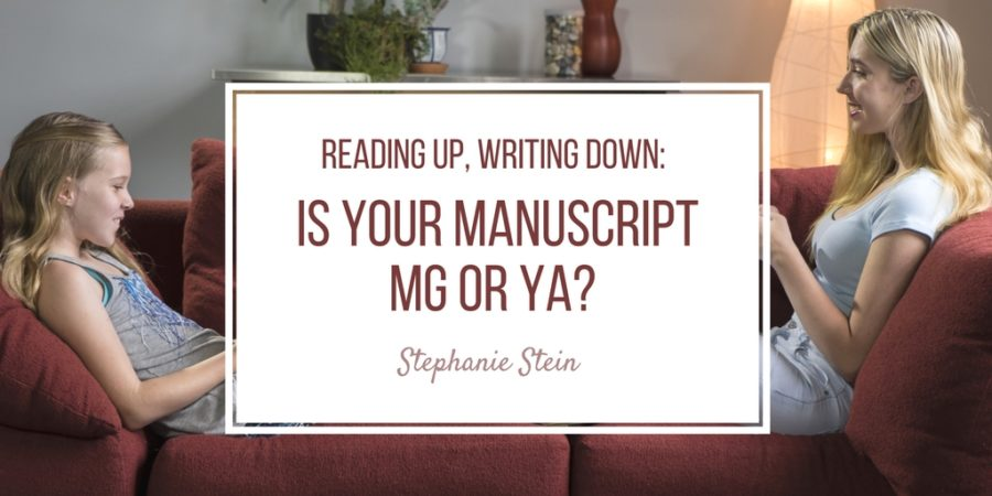 Reading Up, Writing Down: Is Your Manuscript Middle Grade or YA?