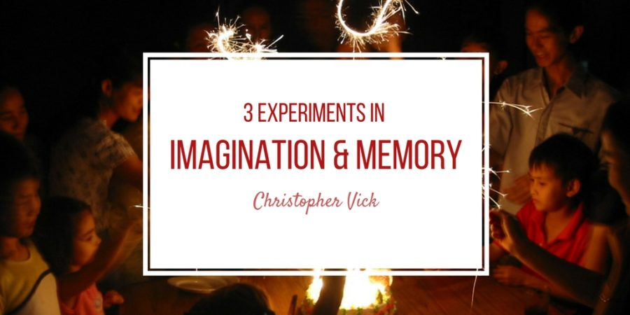 3 Experiments in Memory and Imagination