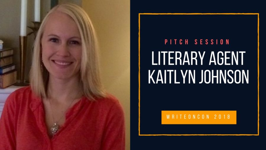 LIVE PITCH: Agent Kaitlyn Johnson