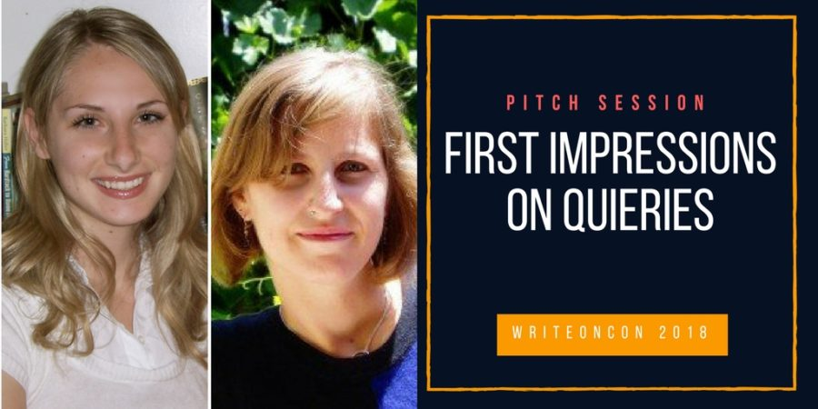 LIVE PITCH: First Impressions on Queries with Natalie Lakosil and Patricia Nelson