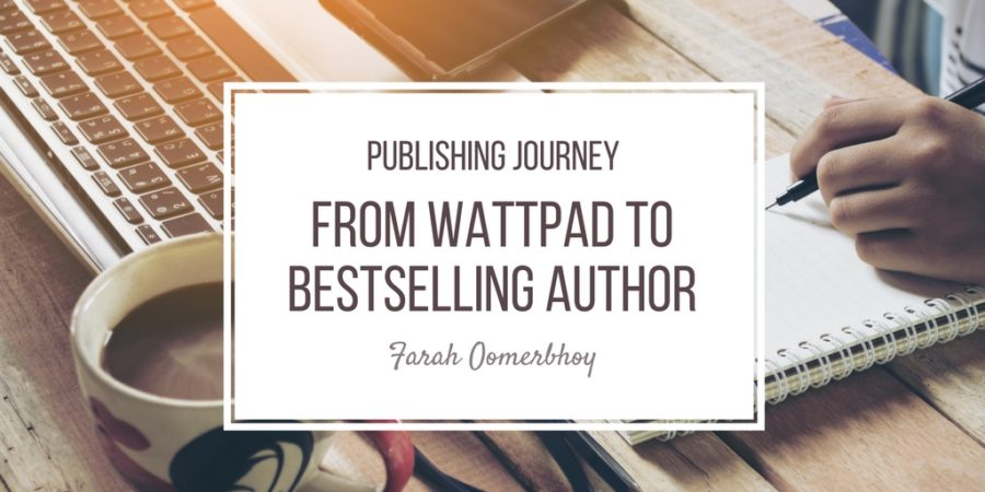 Publishing journey from Wattpad to bestselling author