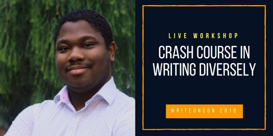 LIVE WORKSHOP: Crash Course on Writing Diversely