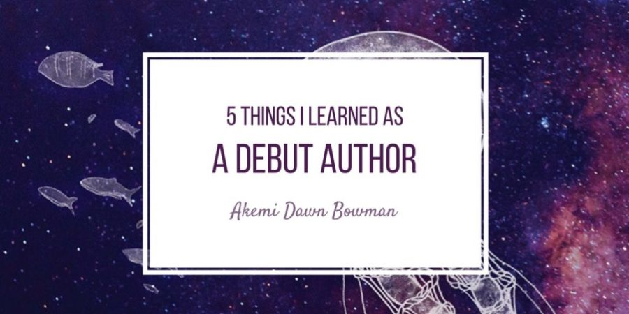 5 Things I Learned as a Debut Author