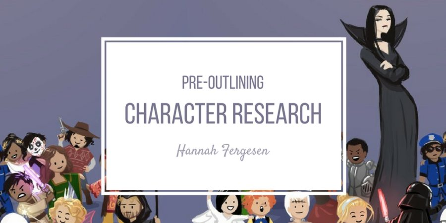 Pre-Outlining Character Research