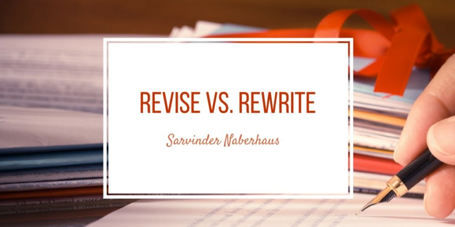 Revise vs. Rewrite
