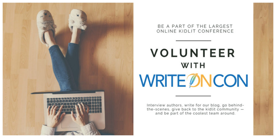 Volunteer with WriteOnCon!