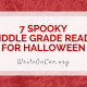 7 Spooky MG Reads for Halloween