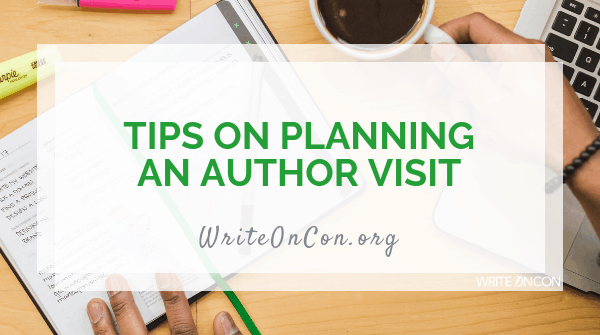 Tips on Planning an Author Visit
