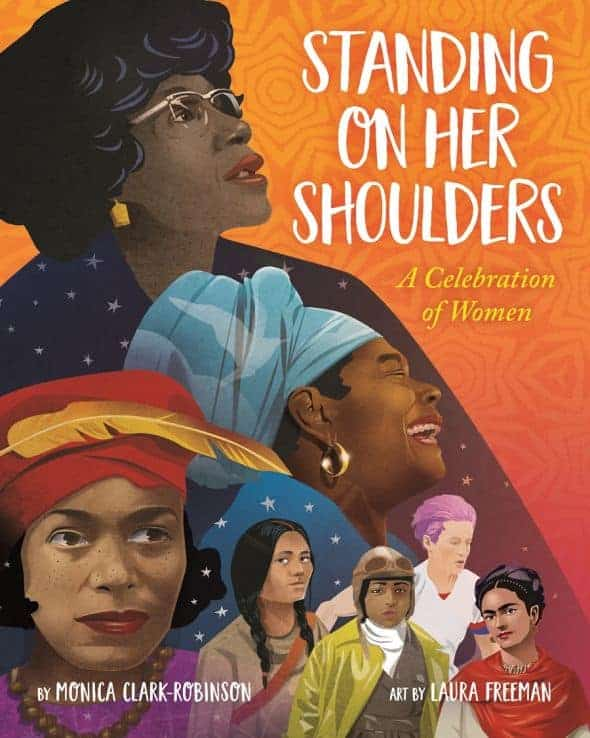 Standing on Her Shoulders by  Monica Clark-Robinson