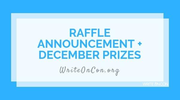 Raffle Announcement + December Prizes