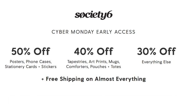 Swag Shop Cyber Monday Sale!