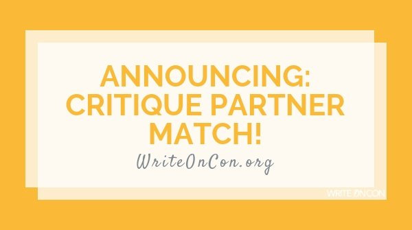 Announcing Critique Partner Match!