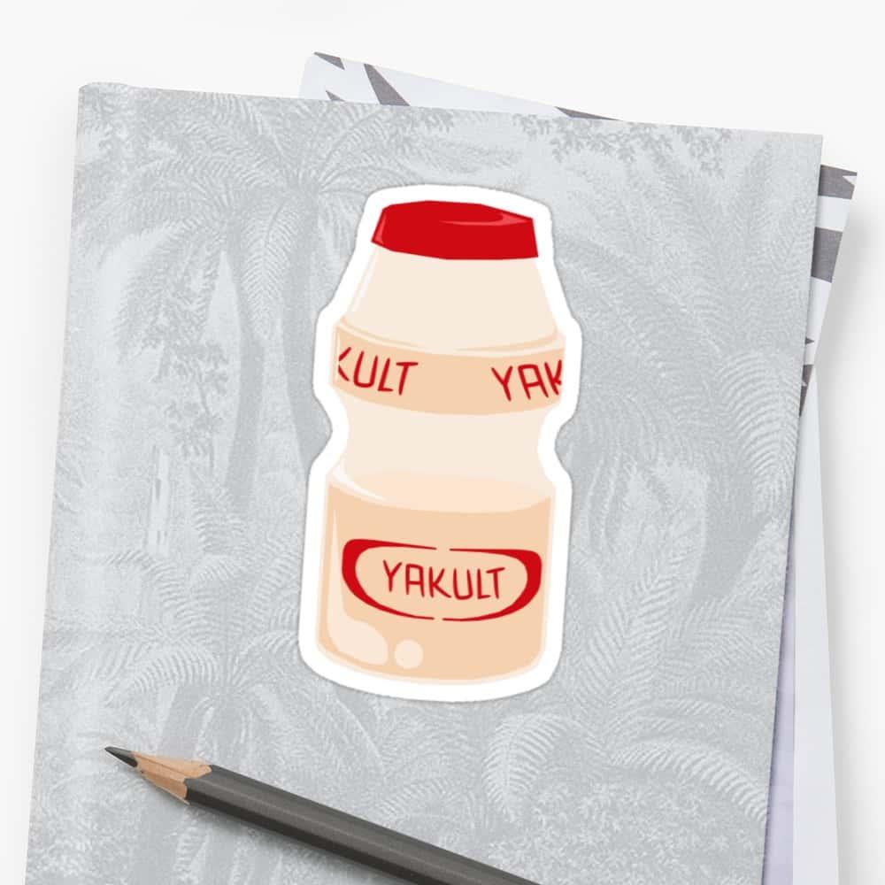 Yakult Sticker