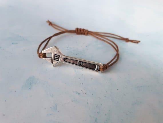 Cinder Lunar Chronicles Mechanic Spanner Charm Bracelet
