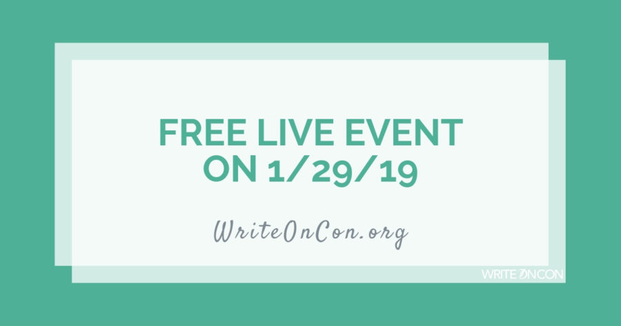 FREE EVENT on 1/29/19: Live Q&A with Literary Agent Andrea Cascardi