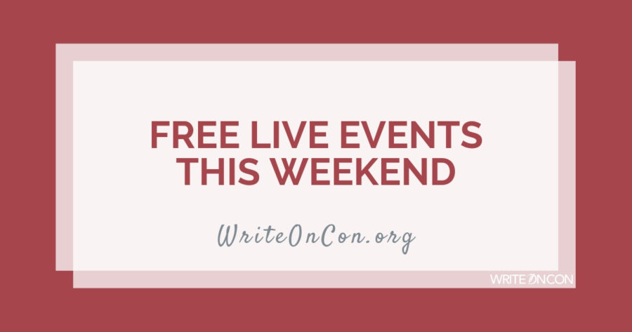 FREE EVENTS THIS WEEKEND: Getting Ready to Query + Finding Inspiration