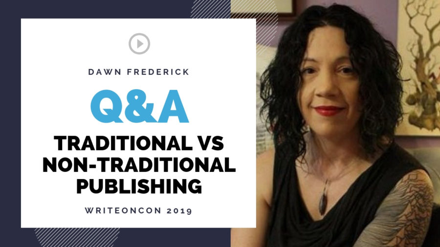LIVE Q&A: Traditional vs Non-Traditional Publishing