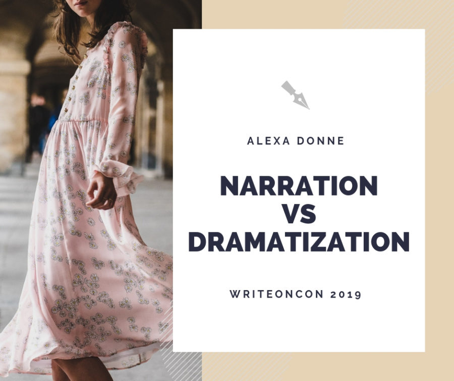 Narration vs Dramatization