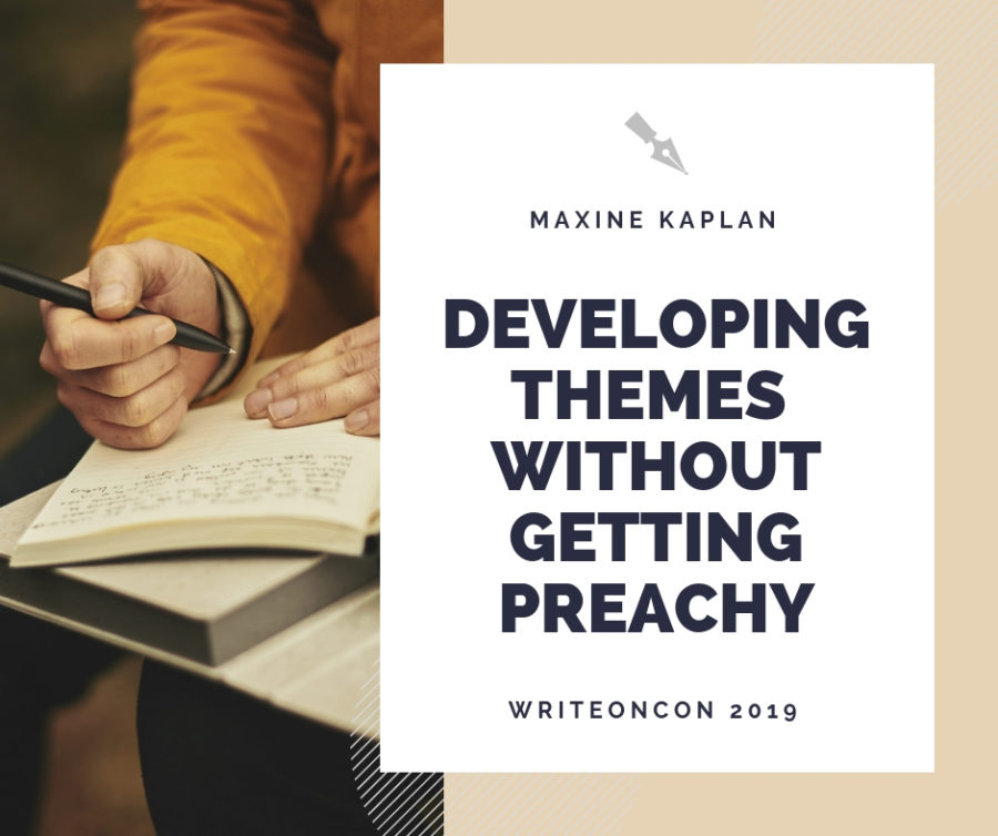 Developing Themes and Messages Without Getting Preachy