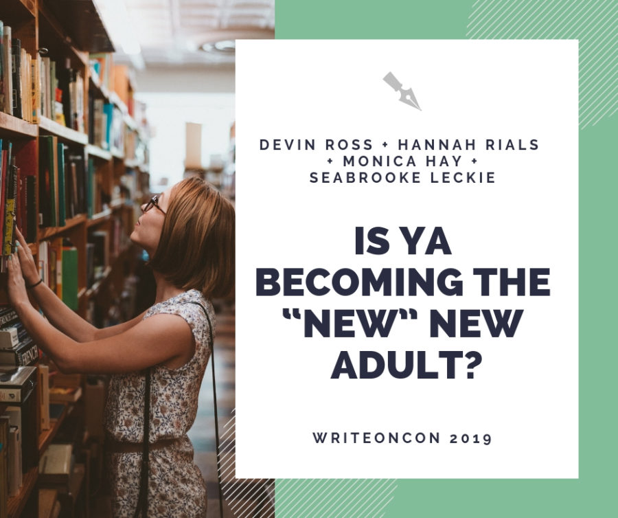 "Is YA Becoming the ""New"" New Adult?"