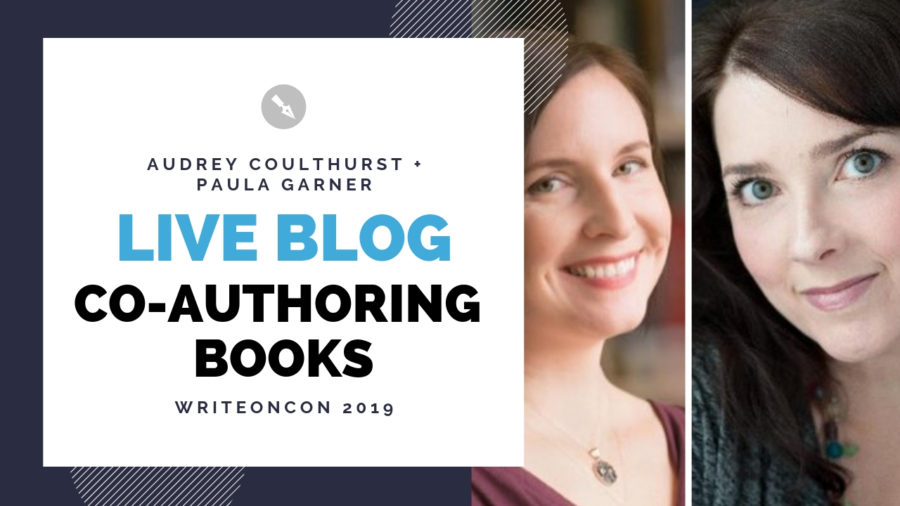 LIVE Blog: Co-Authoring Books