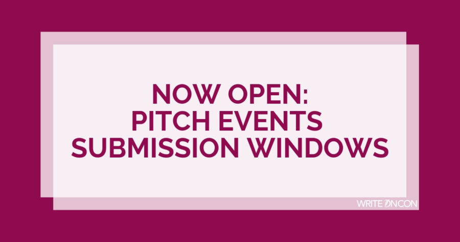 NOW OPEN: Pitch Events Submission Windows