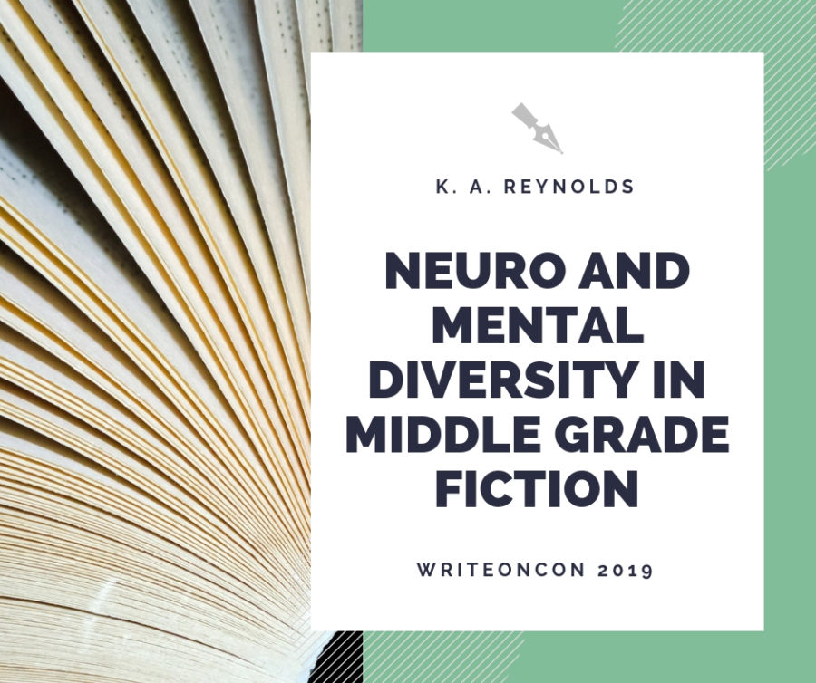 Neuro and Mental Diversity in Middle Grade Fiction