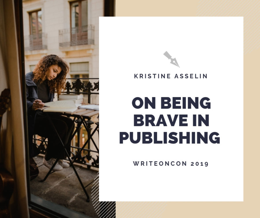 KEYNOTE: On Being Brave in Publishing