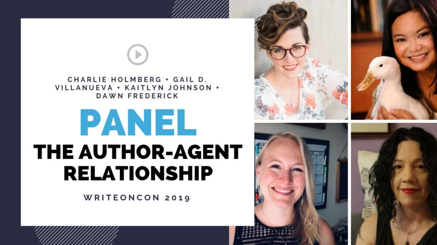 LIVE Panel: The Author-Agent Relationship