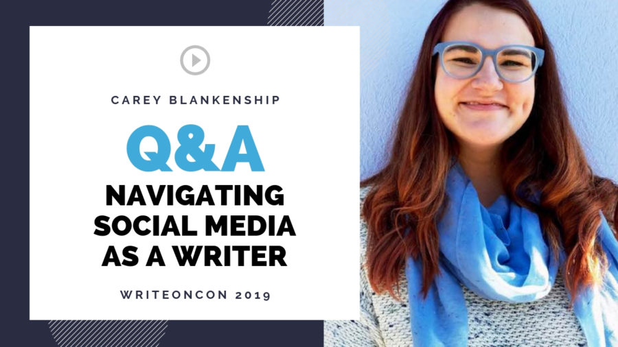 Q&A: Navigating Social Media as a Writer