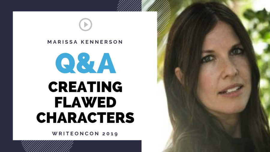 LIVE Q&A: Creating Flawed Characters