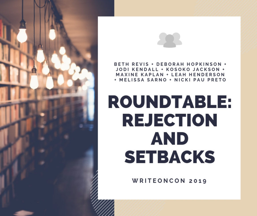 Roundtable: Bouncing Back from Rejection and Setbacks
