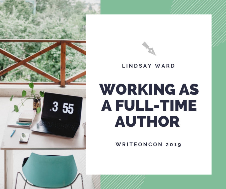 Working as a Full-Time Author