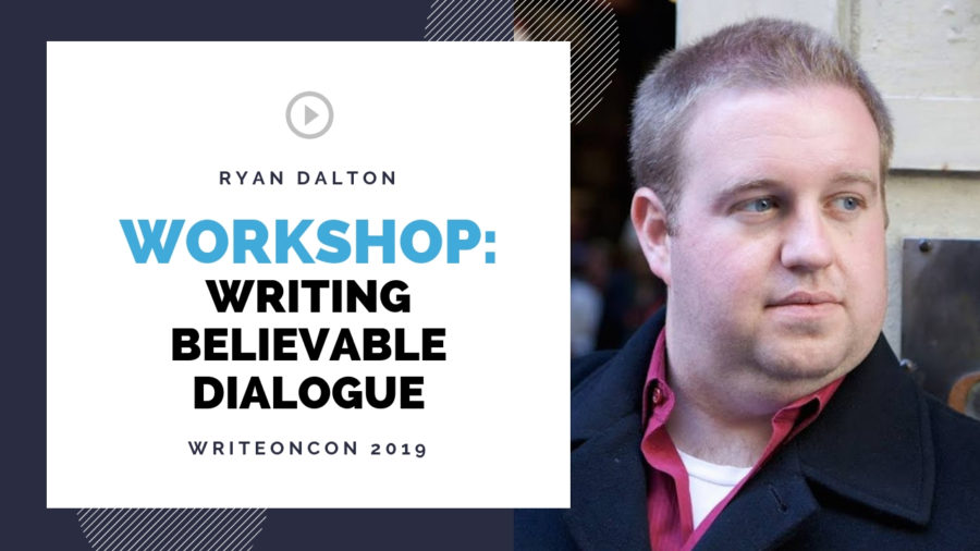 LIVE Workshop: Writing Believable Dialogue
