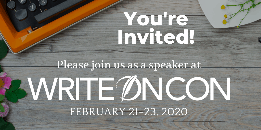 You're Invited to WriteOnCon 2020