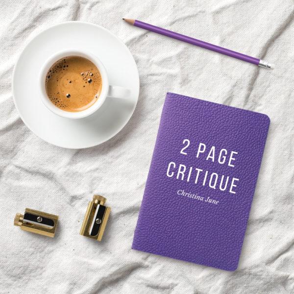 2 Page Crit Christina June