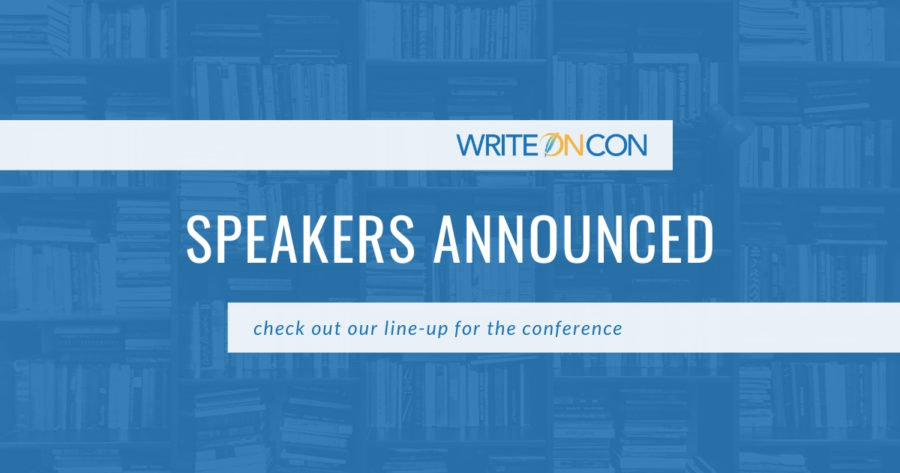 Announcing: WriteOnCon 2020 Speakers!