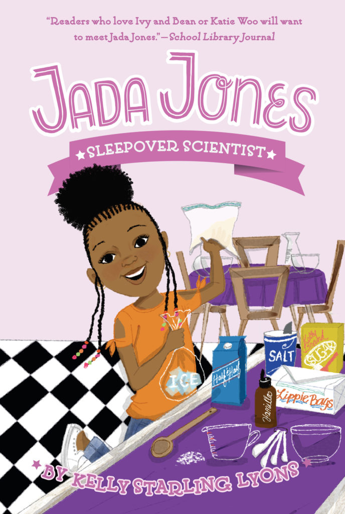Jada Jones, Sleepover Scientist