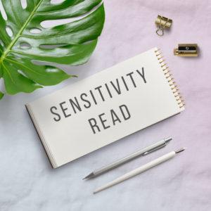 Sensitivity Read