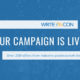 Support WriteOnCon 2020: Campaign LIVE