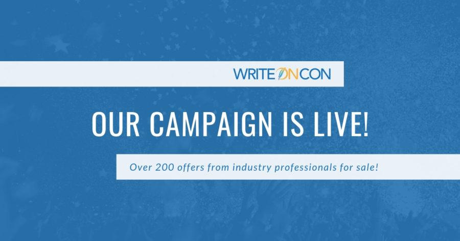 Support WriteOnCon 2020: Campaign LIVE