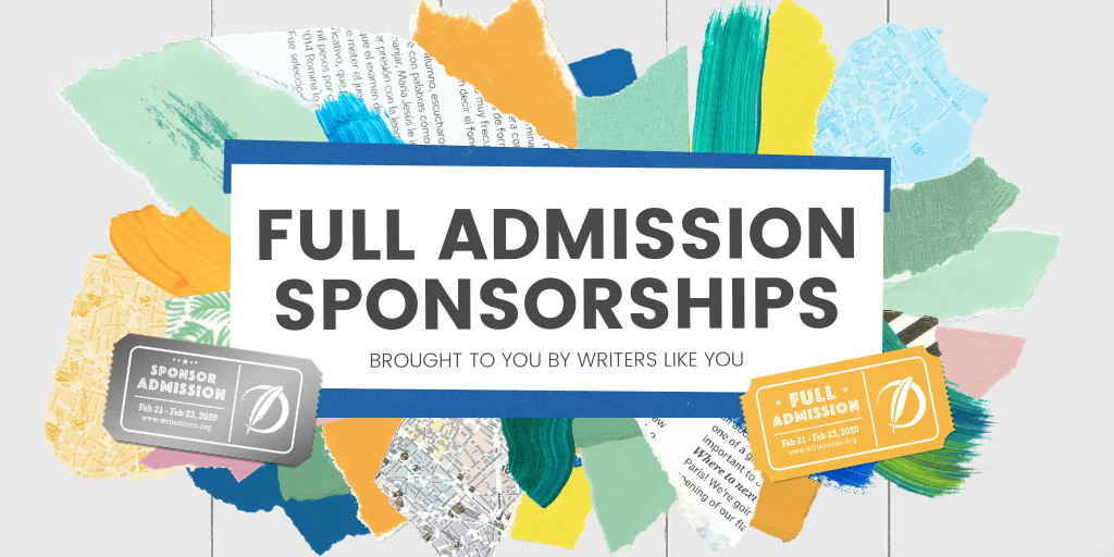 Banner: Full Admission Sponsorships