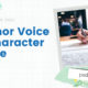 Author Voice and Character Voice